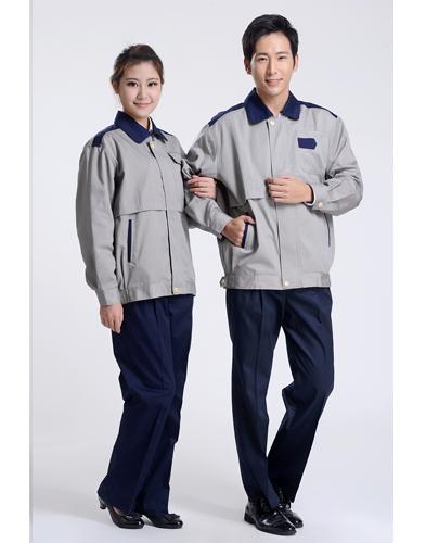 春秋纯棉工作服套装-005