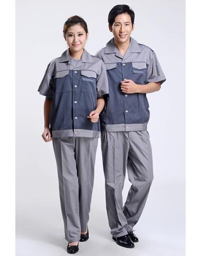 夏装短袖夏装工作服-002