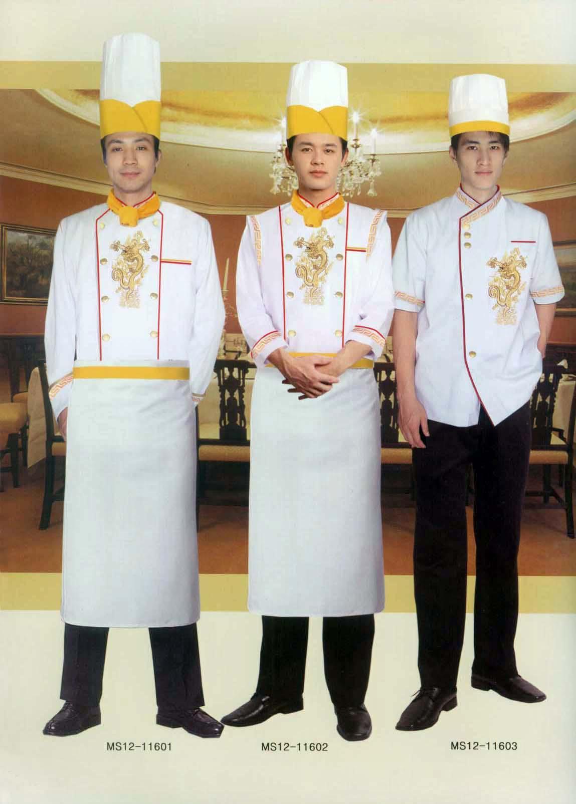 厨师服工作服裤子                斯普荣服装设计部拥有多名服饰专家