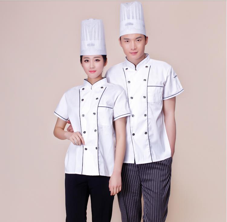 饭店厨师服工作服                斯普荣服装设计部拥有多名服饰专家