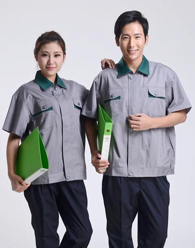【定做厂家】夏季工作服-008