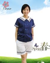 小学校服夏装女款XJXFN-002
